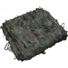 Тент легкий продуваемый для защиты от солнца, для палаток, навесов, беседок 3х1.5м лес