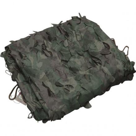 Легкий тент продуваемый для защиты от солнца, для палаток, навесов, беседок 3х6м лес